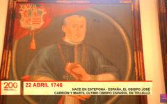Bicentenario Truxillo: José Carrión y Marfil último obispo español en Trujillo