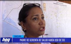 Chiclayo: Padre de Gerenta de Salud haría uso del SIS