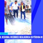 Gobierno Regional reconoce negligencia en pérdida de mineral