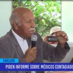 Chiclayo: Piden informes sobre médicos contagiados en hospital
