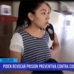 Chiclayo: Piden revocar prisión preventiva contra conductora de tv