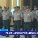 """Policía lanza plan """"Semana Santa 2019"""""""