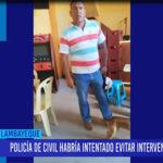 Chiclayo: Policía de civil habría intentado evitar intervención policial