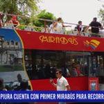 Piura: Primer mirabús para recorridos turísticos
