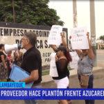 Chiclayo: Proveedor hace plantón frente azucarera Pomalca