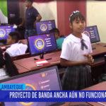Chiclayo: Proyecto de banda ancha aun no funciona al 100%