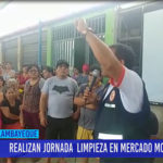 Chiclayo: Realizan jornada de limpieza en mercado Moshoqueque