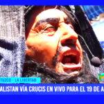 La Libertad: alistan vía crucis en vivo para el 19 de abril en Otuzco
