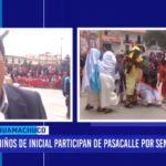 La Libertad: niños de inicial participaron de pasacalle por Semana Santa