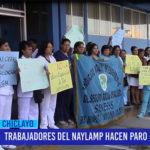 Chiclayo: Trabajadores del Naylamp hacen paro de 24 horas