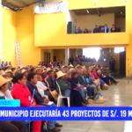 Usquil: municipio ejecutaría 43 proyectos de s/. 19 millones
