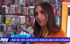Más del 90% de mujeres venezolanas son acosadas