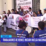 Chiclayo: Trabajadores de RENIEC inician huelga nacional indefinida