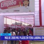Chiclayo: Más de 2000 plazas en feria laboral en Chiclayo