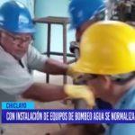 Chiclayo: Se normaliza suministro de agua potable en ciudad Eten