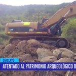 Chiclayo: Atentado al patrimonio arqueológico de Chaparrí