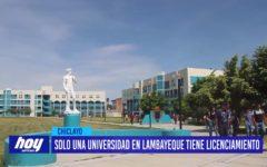 Chiclayo: Solo una Universidad en Lambayeque tiene licenciamiento