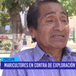 Chiclayo: Maricultores en contra de la exploración petrolera