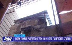 Chiclayo: Piden tumbar paredes que son un peligro en Mercado Central