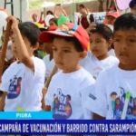 Piura: Campaña de vacunación y barrido contra sarampión, poliomielitis y rubéola