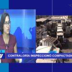 Chiclayo: Contraloría realizó inspección a compactadoras.