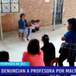 Piura: Denuncian a profesora por maltrato físico