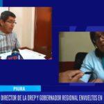 Piura: Director de la Drep y gobernado regional envueltos en escándalo de audio.