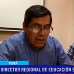 Piura: Director regional de Educación se defiende