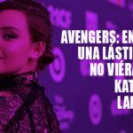 "Katherine Langford no salió en ""Avengers: Endgame"""