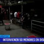 Chiclayo: Intervienen 50 menores en discoteca