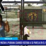 """Piura: Familiares de mujer asesinada en el penal """"El Milagro"""" exigen justicia."""