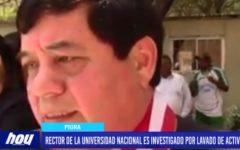 Piura: Rector de la UNP es investigado por lavado de activos.