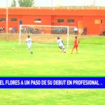 Ángel Flores a un paso de su debut en profesional
