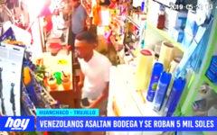 Venezolanos asaltan bodega en Huanchaco
