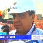 Construcción de colegio Raimondi presenta avance de 28%