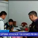 Chiclayo: Capturan a ex alcalde y sus secuaces por una obra fantasma