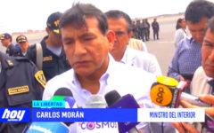 """Carlos Morán: """"Estamos evaluando permanencia de prefecto regional"""""""
