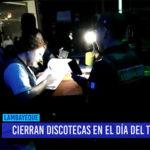 Chiclayo: Cierran discotecas en el día del trabajo