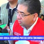 Poder Judicial entramparía procesos contra funcionarios corruptos