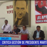 Chiclayo: Critica gestión de presidente Martin Vizcarra