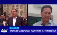 Daniel Salaverry le responde a Vizcarra por reforma política