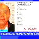 Edwin Donayre: ofrecen 100 mil soles por su paradero de congresista