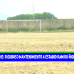 Riguroso mantenimiento a estadio Ramiro Ñique de Moche