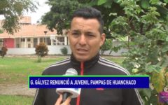 Gerson Gálvez renunció a juvenil Pampas de Huanchaco