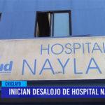 Chiclayo: Inician desalojo de Hospital Naylamp