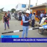 Chimbote: SAN LUIS EXPRESS INICIA INSTALACIÓN DE PARADEROS