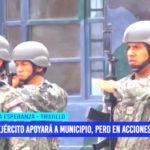 """Martín Namay: """"Ejército apoyará a municipio, pero en acciones cívicas"""""""