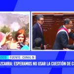 """Martín Vizcarra: """"Esperamos no usar la cuestión de confianza"""""""