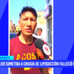 Chimbote: Mujer sometida a cirugía de liposucción falleció en clínica