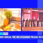 El Poder Judicial pide más seguridad policial en ex Floresta